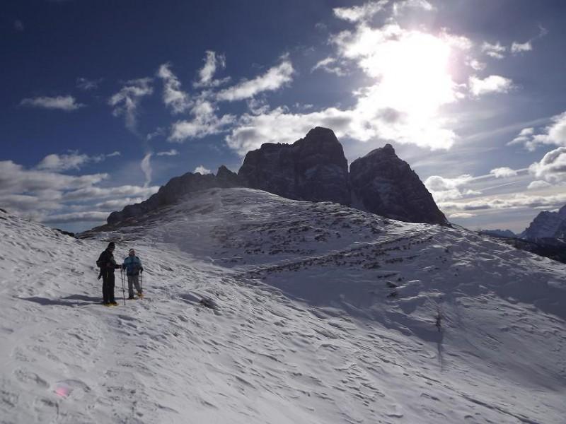 Escursione ciaspole Pelmo 3