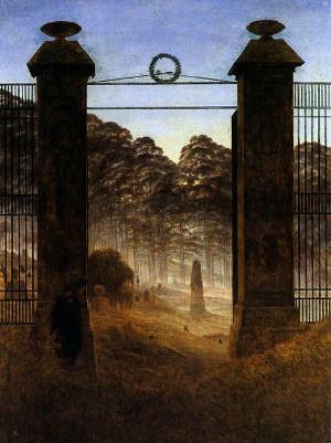 porta del cimitero kd Friedrich