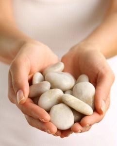 rocks-hands